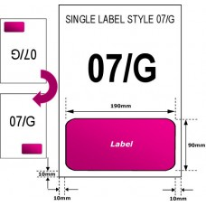 5000 A4 laser / Inkjet sheets AMAZON labels 07/G