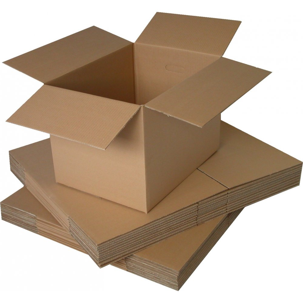 100 x SINGLE Wall 18x12x3'' Cardboard Mailing Postal Boxes