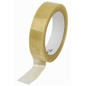 72x 66m Clear Parcel Tape 25mm 1""