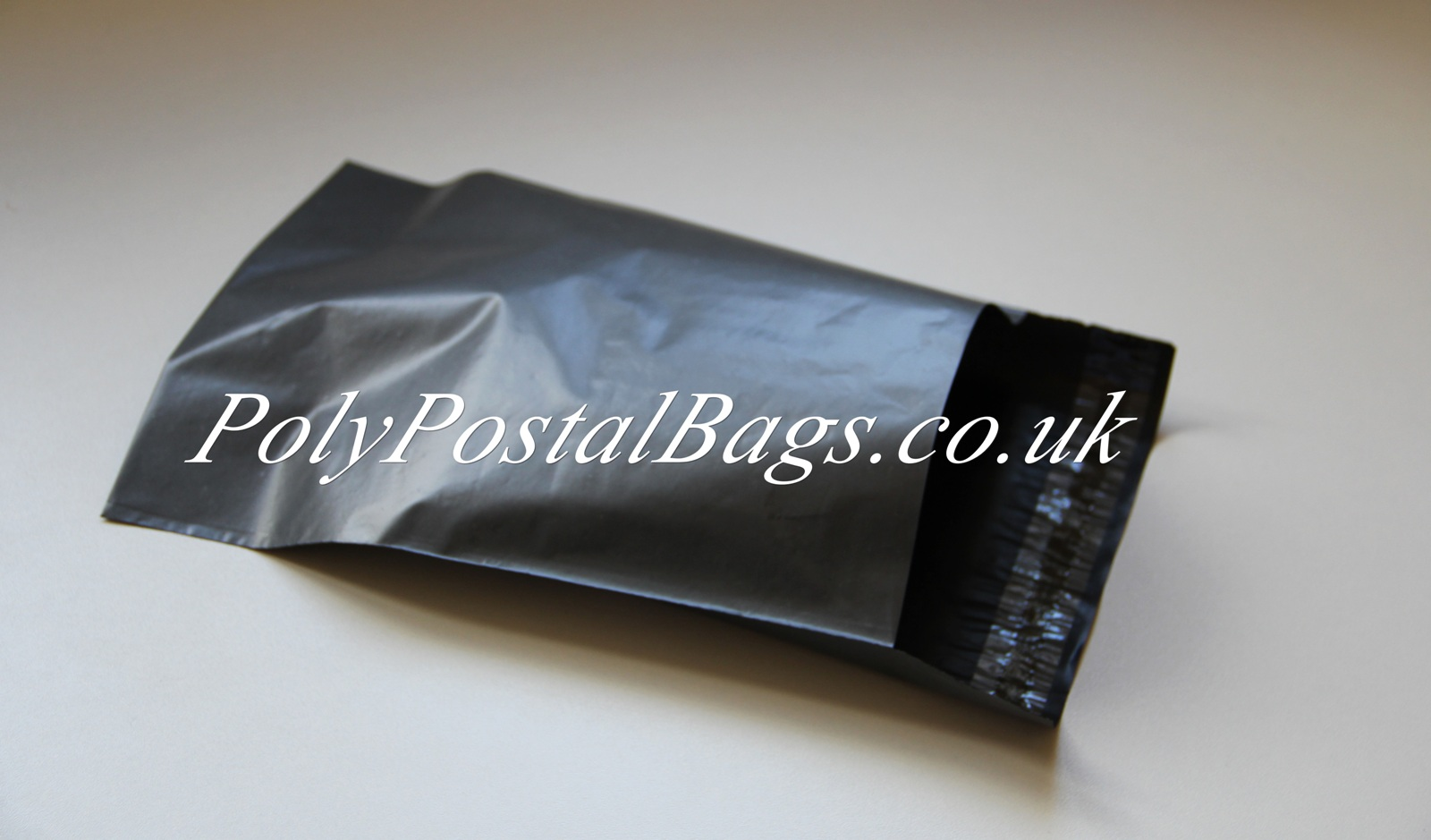 "50x Grey Mailing Bags 14x21"" - 350x525mm +Lip"