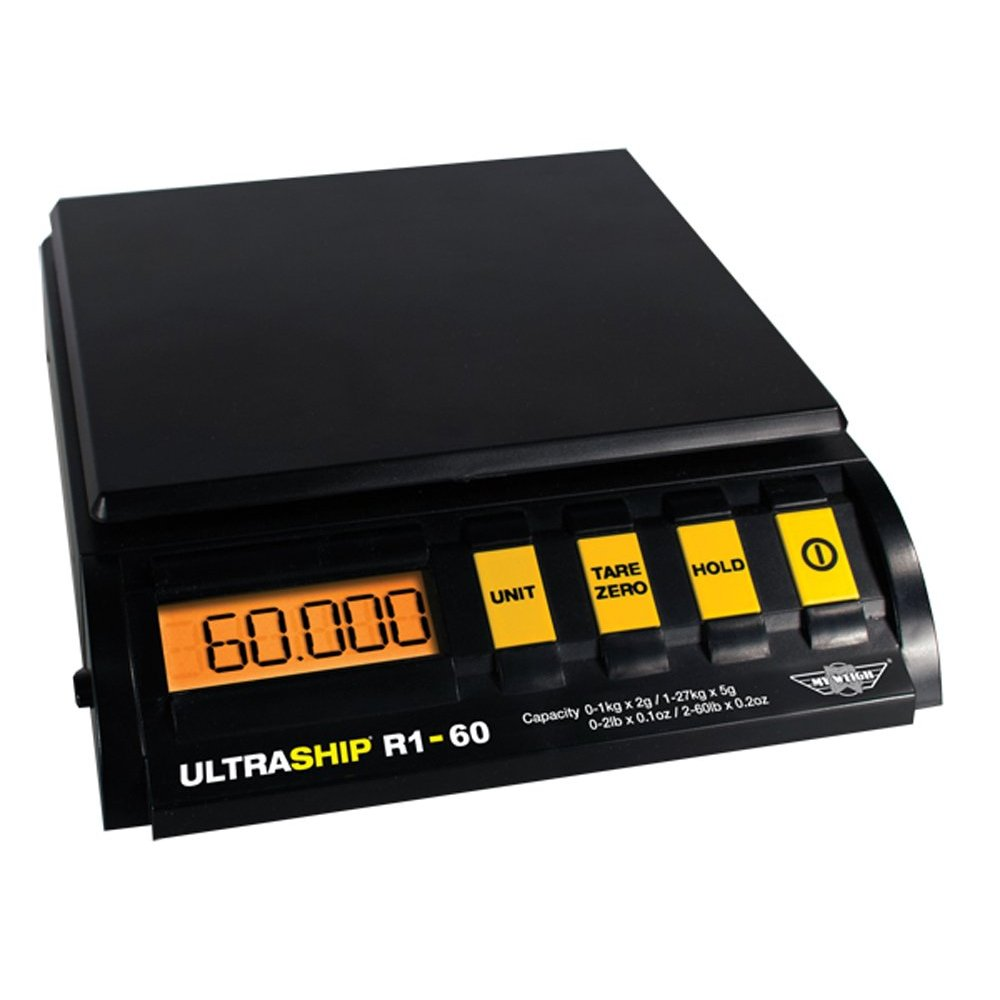 Ultraship R1-60Lb DIGITAL PARCEL POSTAL WEIGHTING SCALES SCALE