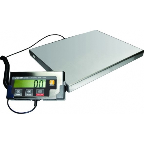 Jennings JShip 130lb 59Kg Platform Scale Digital Weighting