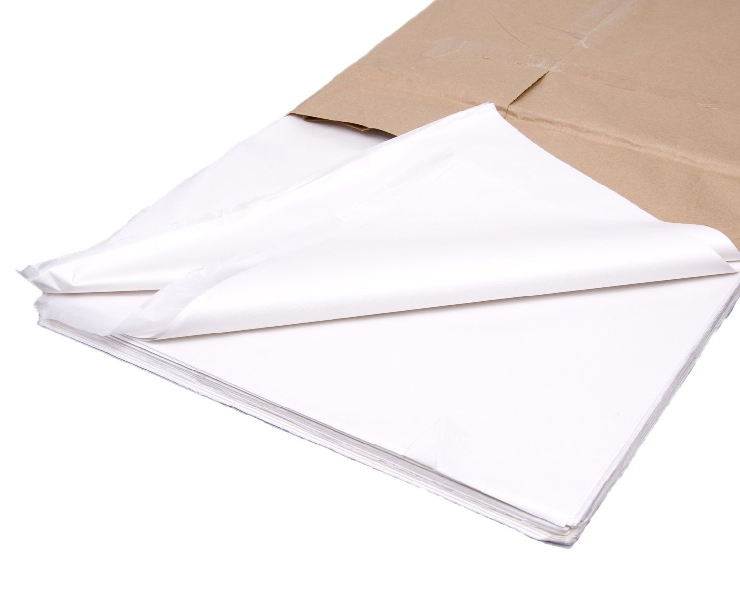 "1000x White Tissue paper 20x30"" - 500x750mm"